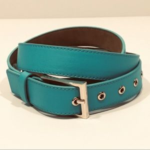 Talbots Aqua Leather 2x